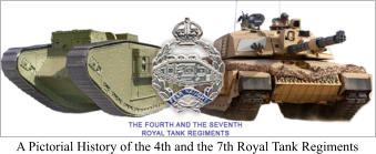 A Pictorial History of the 4th and the 7th Royal Tank Regiments